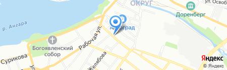Супер Повар на карте Иркутска