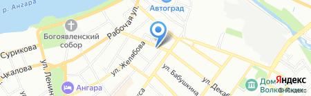 Baikal-moda на карте Иркутска