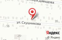 Схема проезда до компании Ракурс в Иркутске
