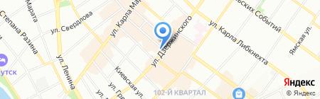 Отдел организации применения административного законодательства на карте Иркутска
