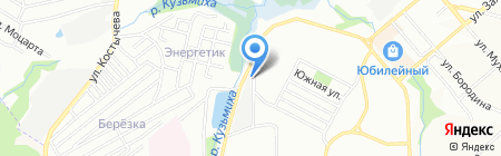 Автогаражный кооператив №23 на карте Иркутска