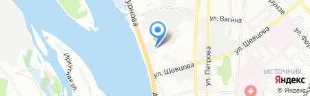 Специальная коррекционная школа-интернат №3 г. Иркутска для детей-сирот и детей на карте Иркутска