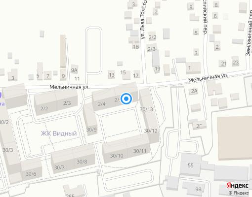 Товарищество собственников жилья «Золотой век» на карте Иркутска