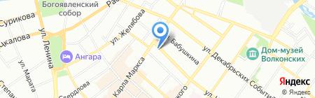 Фирма по автоматизации и продаже навигационного оборудования на карте Иркутска