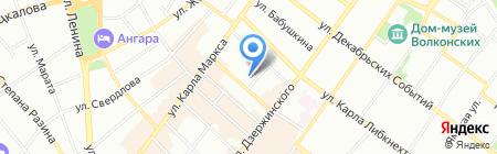 Хапки Юсуль Иркутская региональная общественная организация на карте Иркутска