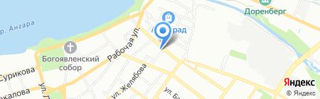 Паркет Мастер на карте Иркутска