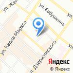 Средняя общеобразовательная школа №65 на карте Иркутска