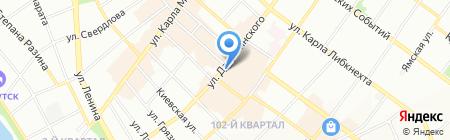 Черный бриллиант на карте Иркутска