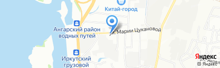 Кафе-бистро на карте Иркутска