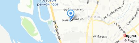 Городской дозор на карте Иркутска