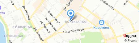 Поликлиника на карте Иркутска