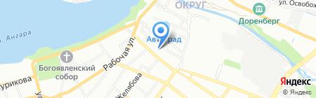 Malina Nail Bar на карте Иркутска