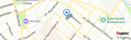 Новая планета на карте Иркутска