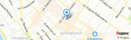ГОРОДСКОЕ СБЕРЕГАТЕЛЬНОЕ ОТДЕЛЕНИЕ на карте Иркутска