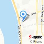 Реминструмент на карте Иркутска