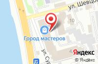 Схема проезда до компании Луч в Иркутске