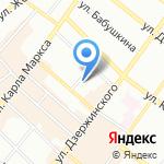Данкил на карте Иркутска