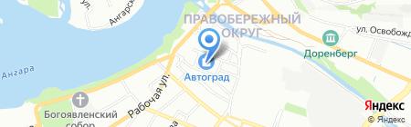 СибСилс на карте Иркутска