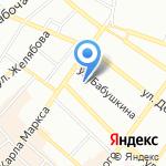 Детский сад №51 на карте Иркутска