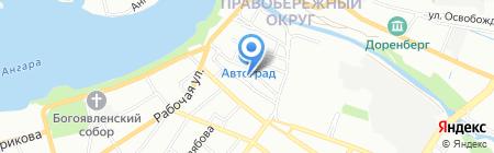 Магазин мебели на карте Иркутска