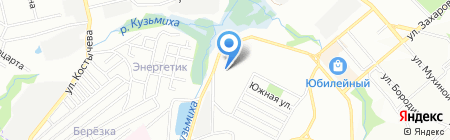Авто на карте Иркутска