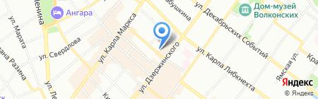 ЮристЪ на карте Иркутска