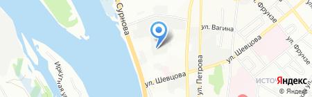 Арт Металл на карте Иркутска