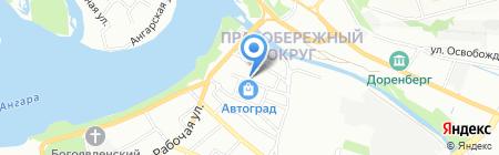 ДекАрт на карте Иркутска