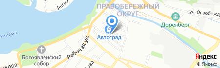 RoyalAuto на карте Иркутска