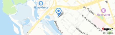 Ресурсный учебный центр автотранспортной и строительной техники на карте Иркутска