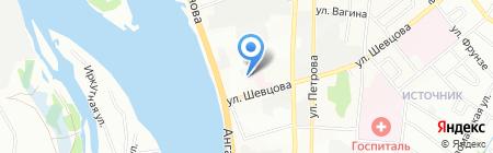 Трио-М на карте Иркутска