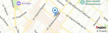 СпецСнаб на карте Иркутска
