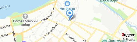 Гэсэр на карте Иркутска