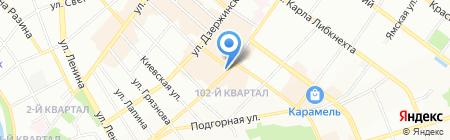 Мебель Star на карте Иркутска