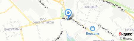 МебельСтиль на карте Иркутска