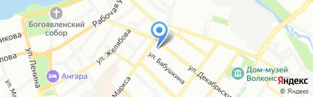 СибОкна на карте Иркутска