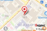 Схема проезда до компании Фонд Народных Инициатив в Иркутске
