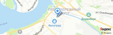 Эко на карте Иркутска