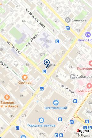 ЗЕМЕЛЬНОЕ АГЕНТСТВО на карте Иркутска