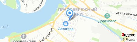 Двери.ru на карте Иркутска