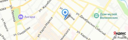 Вариант Тур на карте Иркутска