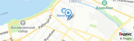 КУХНИ ДЕЛИЯ на карте Иркутска