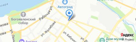 Люкс-Вуд на карте Иркутска