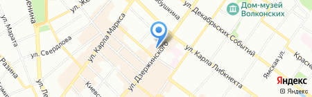 Dion ДВ на карте Иркутска