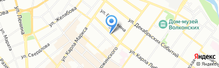 ШиК на карте Иркутска