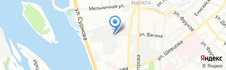 ГУ Поликом на карте Иркутска