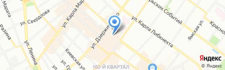 Контора на карте Иркутска