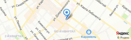 Меховые изделия на карте Иркутска