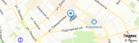 СибРегионТур'S на карте Иркутска