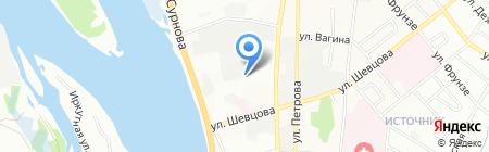 SmileAuto на карте Иркутска